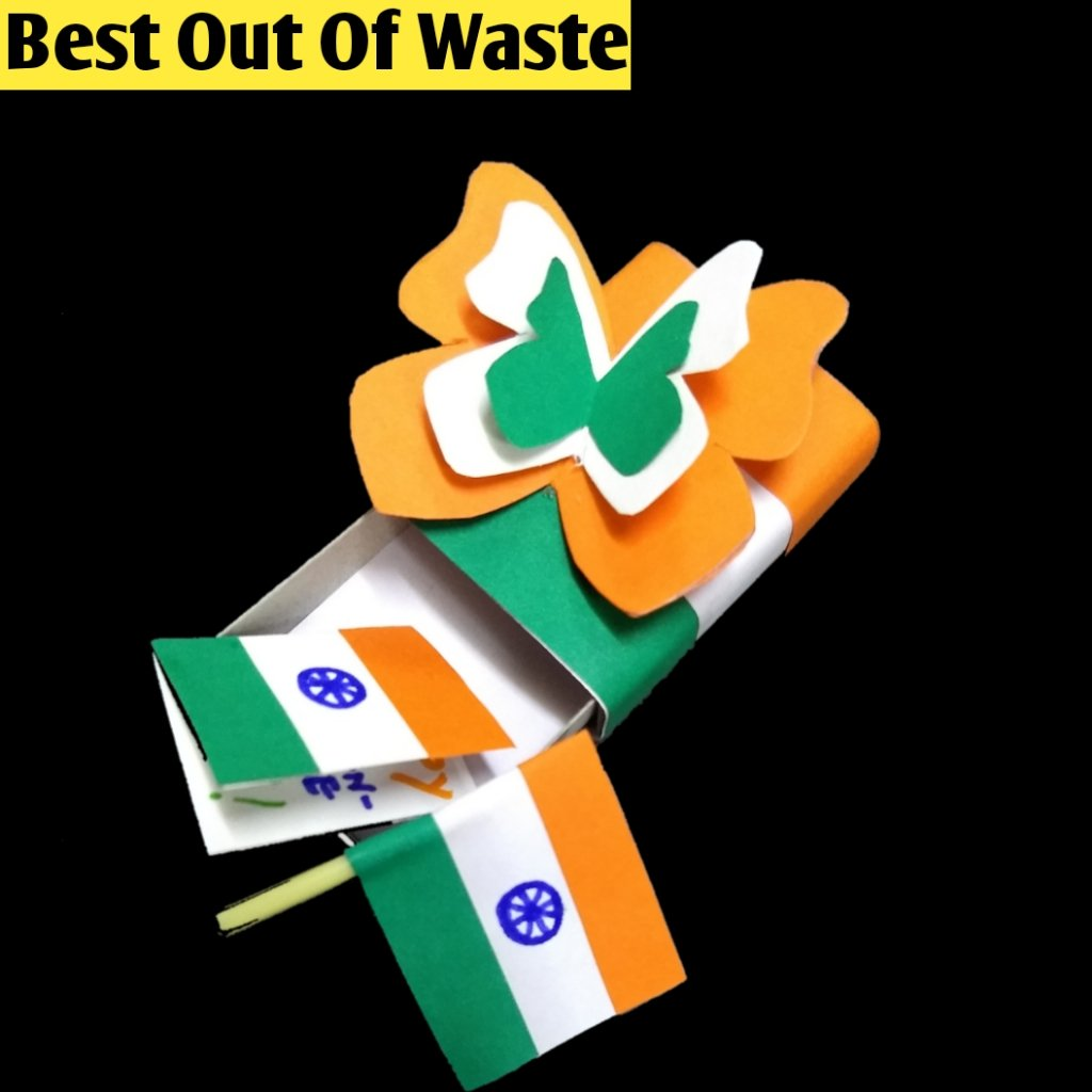 Republic Day Special DIY Easy Best Out Of Waste Craft Idea Here's Link :   #RepublicDayIndia #RepublicDay2021