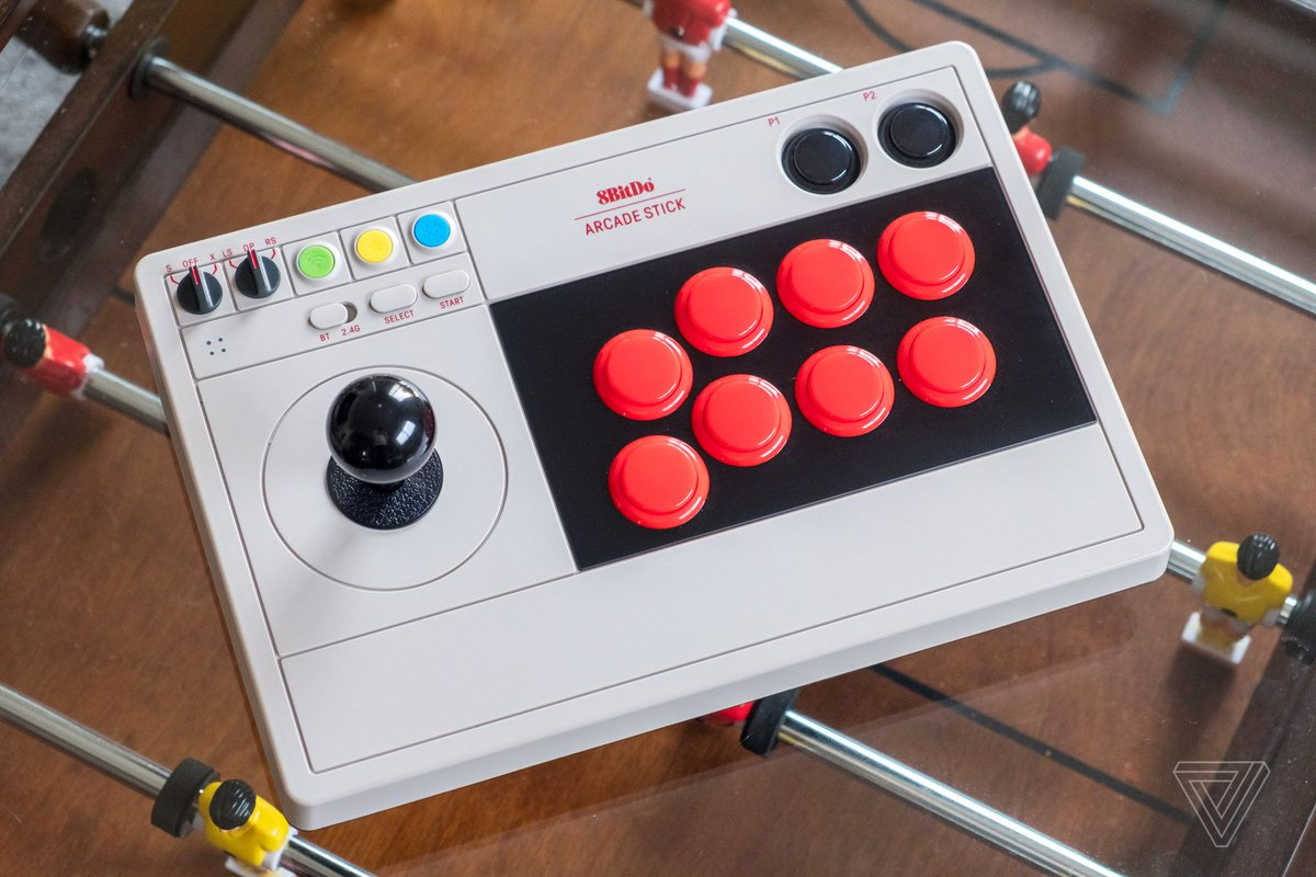 8BitDo's Arcade Stick is a sleek and stylish Switch controller theverge.com/22243957/8bitd…