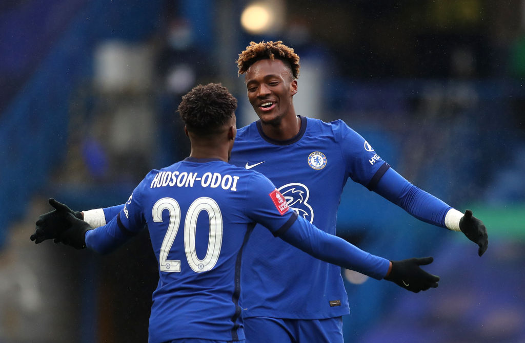 Tammy Abraham is the first Englishman to score an FA Cup hat-trick for Chelsea since Frank Lampard against Macclesfield in 2007. Picking up tips from his former manager.
