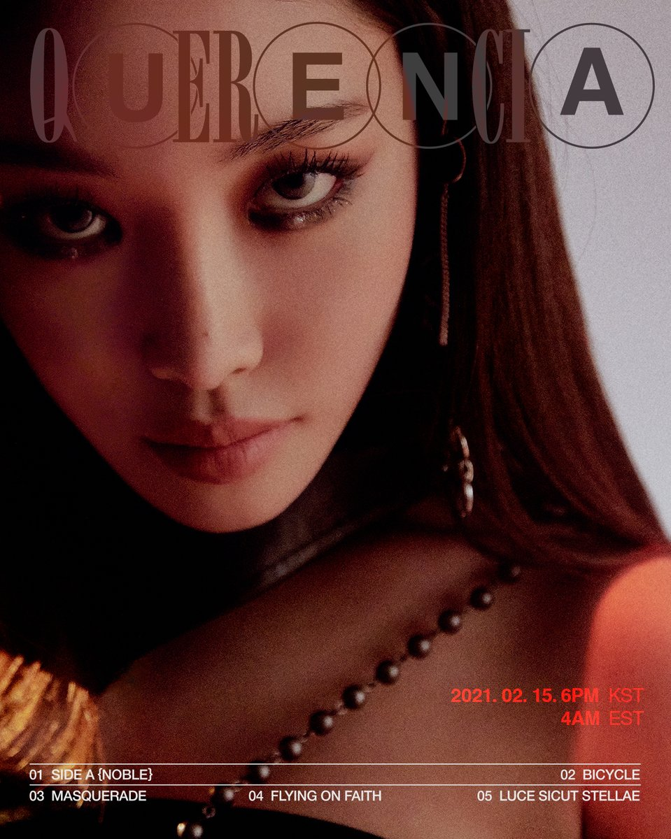 CHUNG HA The 1st Studio Album [ Querencia ]  Photo Teaser { NOBLE } 2021. 02. 15. 6PM (KST) 2021. 02. 15. 4AM (EST)  #청하 #CHUNGHA #CHUNGHA_Querencia #CHUNGHA_Bicycle #Querencia #Bicycle