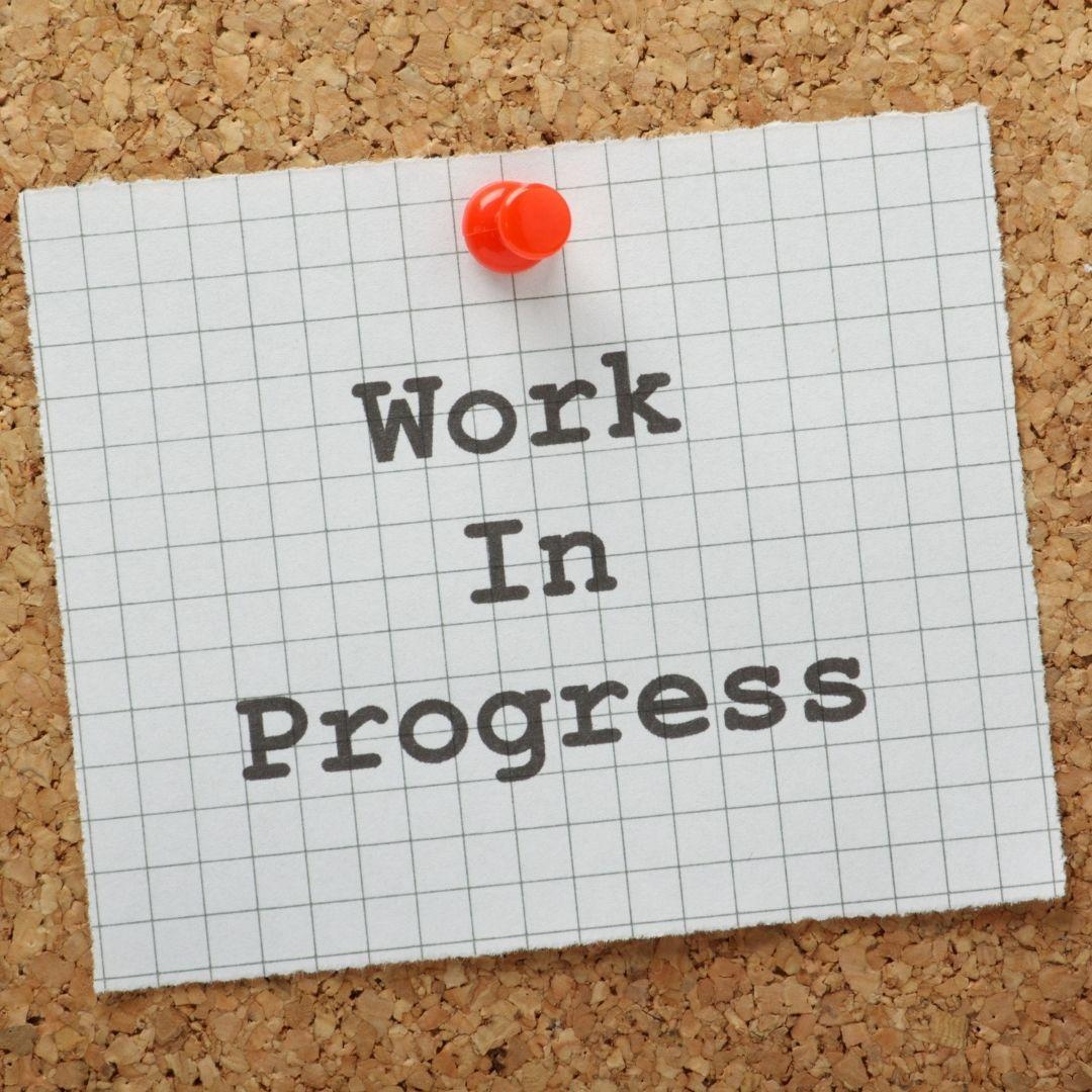 It's ok to be a work in progress. #MondayMotivation