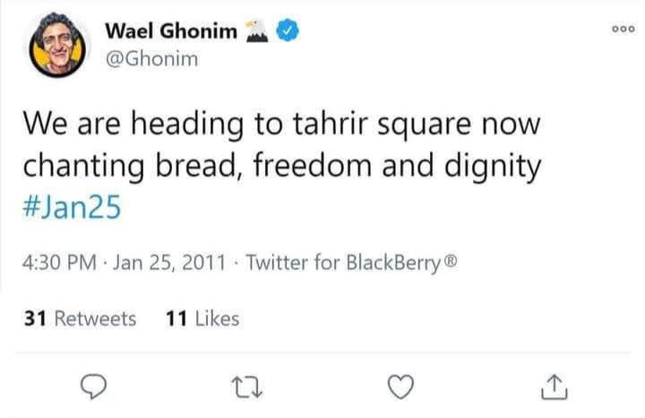 #10thAnniversary #25Jan @Ghonim