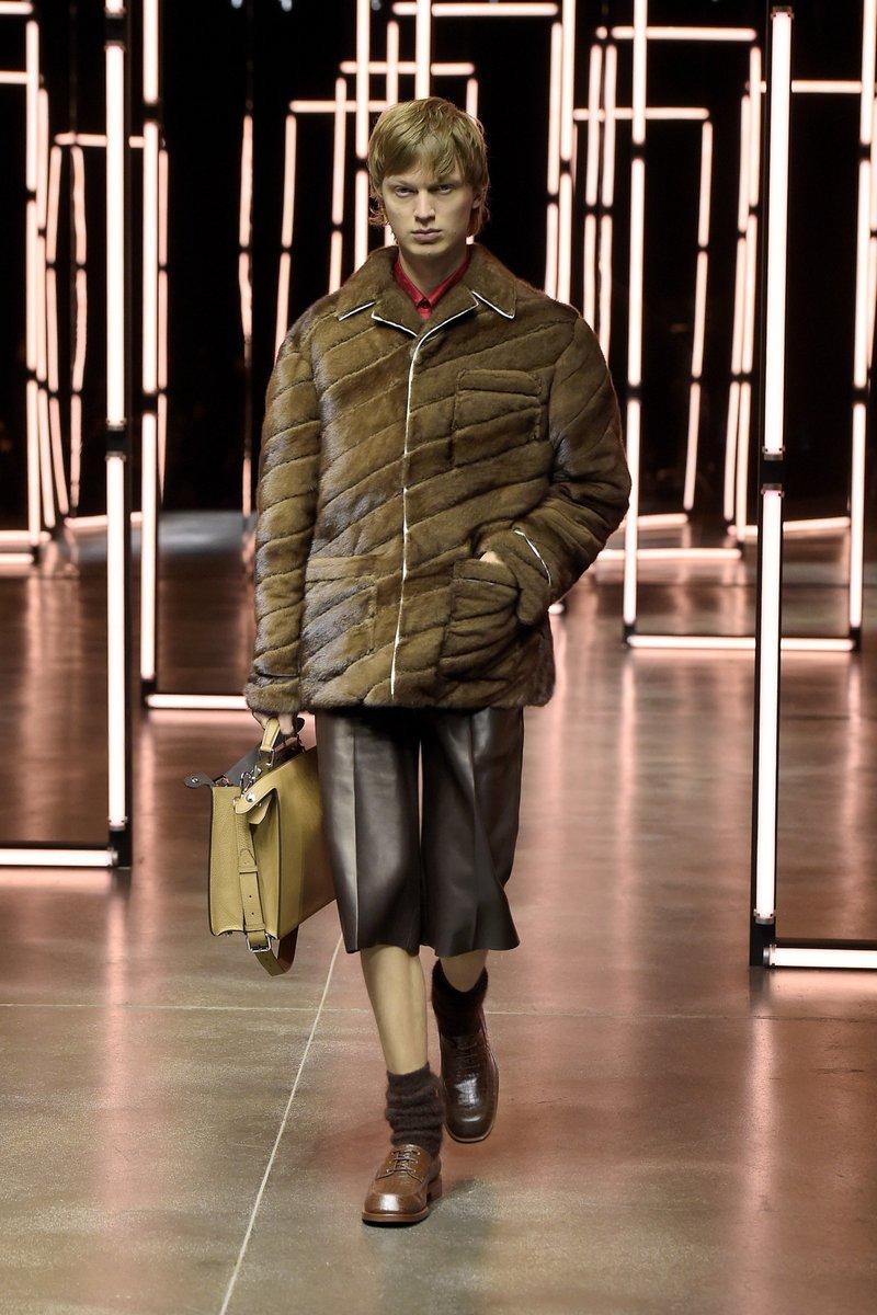 New Normality @FENDI #FendiFW21 Men's  #infurmagazine #infurmag #fashion #furs #fur #furfashion #ootd #streetstyle #streetfashion #wow #highfashion #madeinitaly #inspo #fashionweek #wiwt #minkfur #fendi #menswear #mens #fw21 #runway #mensfashion #menstyle #FendiFriends