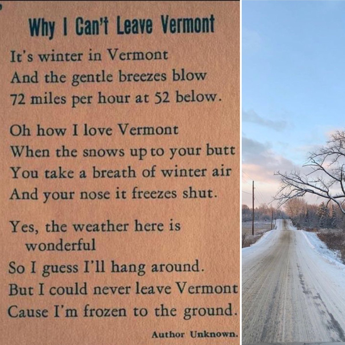 We're not going anywhere anytime soon! Hello, -8! 🥶😅 #vermont #MondayMorning #BabyItsColdOutside