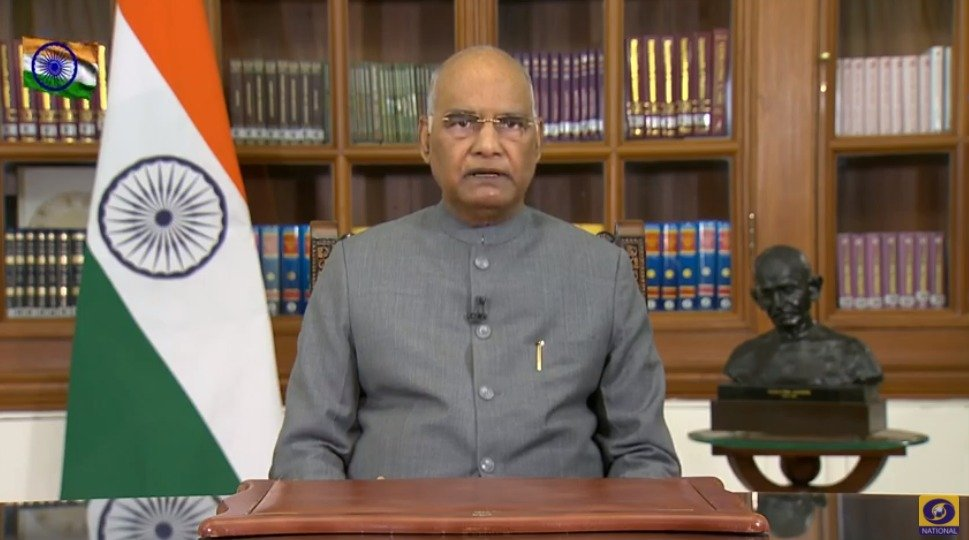 The administration and health services are working with full readiness to make this exercise (vaccination) a success. I urge upon countrymen to utilise this lifeline & get vaccinated as per guidelines. Your health opens the way for your advancement: President Ram Nath Kovind