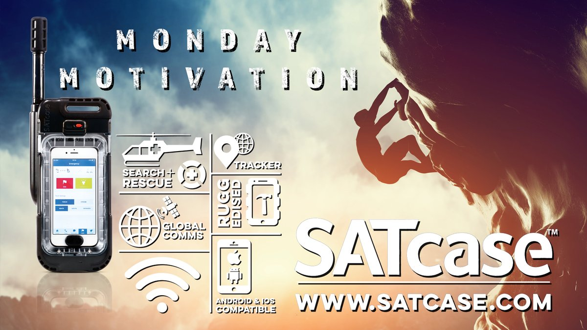 MONDAY MOTIVATION: Wherever you are in the world, and whatever you're doing...stay safe  #satcase #communication #safety #outdoors