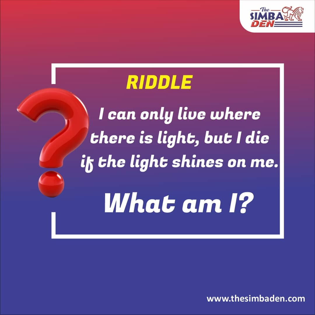 Can you guess the riddle?  #mondaythoughts #nigeria #nigerian