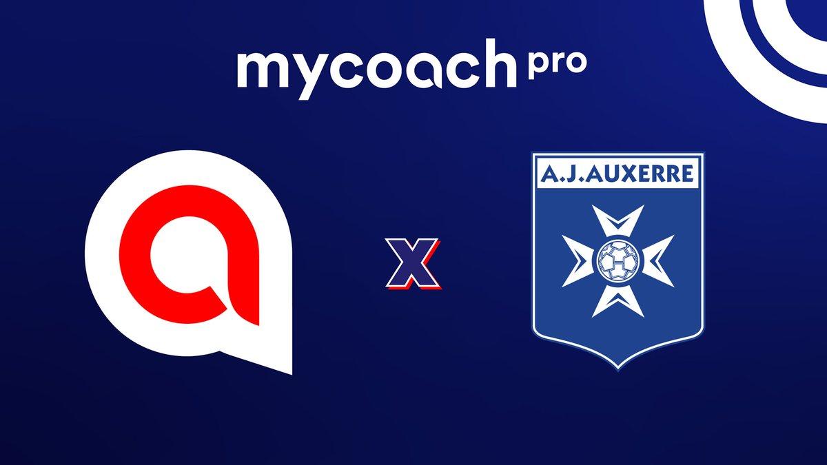 🤝 L'@AJA prolonge avec @MyCoach_fr ✍️ Pour la quatrième saison consécutive, la #TeamAJA, la #FormationAJA et l'#AJAstade disposeront de #MyCoachPro pour le recueil des données et le suivi de la performance.  #BoostYourPerformance  ℹ️