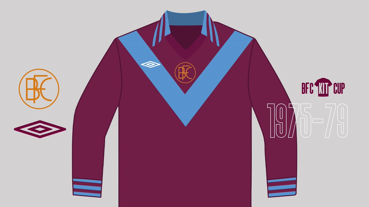 KIT CUP | First up we have... ⬇️  Kit 1 (Umbro) - The crest remains unique to the shirt in question and the blue 'V' has never reappeared in a Burnley kit.  Kit 2 (Adidas) - The quartered top was a break from tradition, but this kit remains a stand-out.
