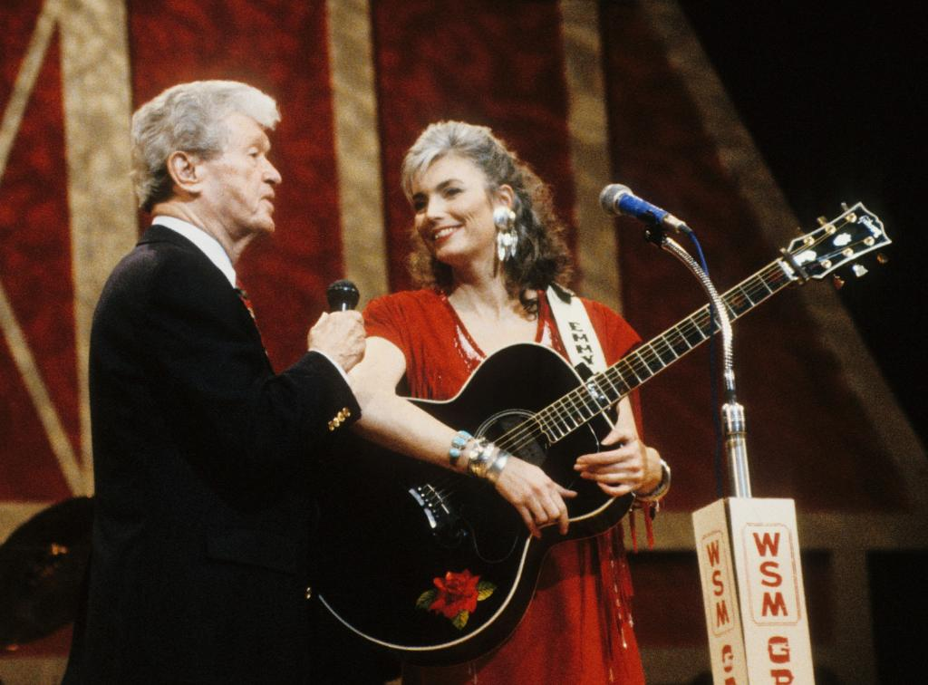 Wishing a very happy Opry anniversary to @emmylousongbird today!