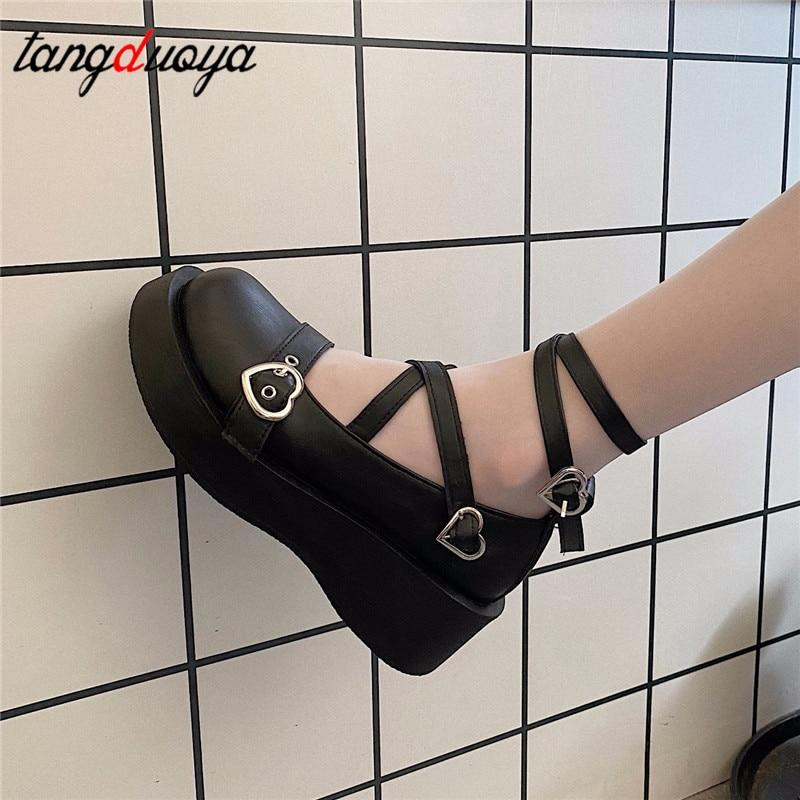 loli sweet lolita shoes platform round head thick  R 190.99 #Holyhost #loli #sweet #40054754light6 #Heels #Shoes
