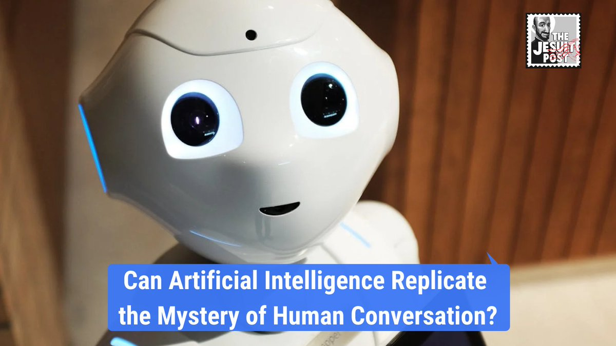 A conversation between friends reveals positive potential and possible pitfalls of machines that socialize like humans. Can artificial intelligence replicate the mystery of human communication? Our latest from Kevin Kuehl, SJ  #mondaythoughts #ai #catholic