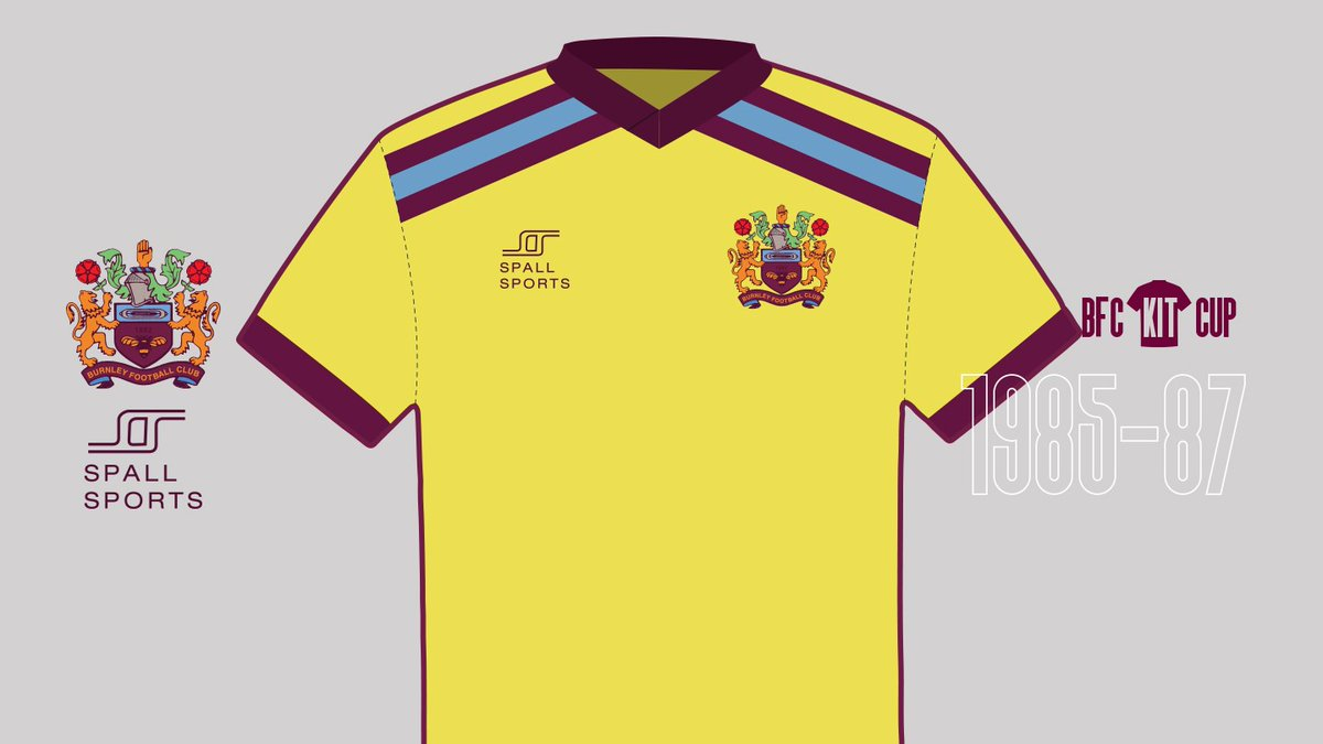 KIT CUP | Next up, we have these two away shirts. ⬇️  Kit 1 - Simple design with claret and blue bands high across the chest and a firm favourite with fans.   Kit 2 - A claret band across the midriff and two stars above the crest, to represent our First Division title successes.