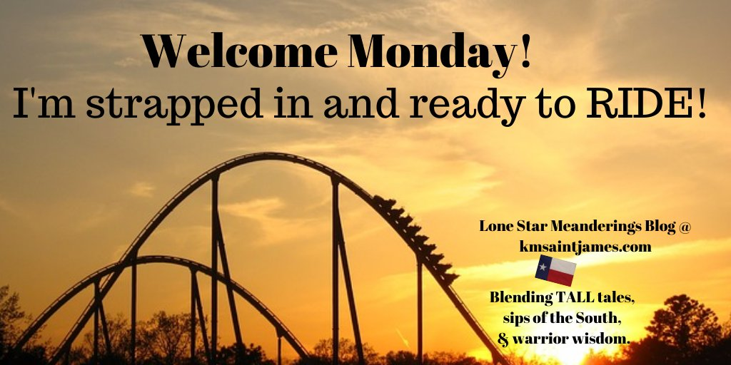 Good morning Monday and Twitter friends,  The sun has finally returned to North Texas and we're ready to enjoy the shine.  #MondayMorning