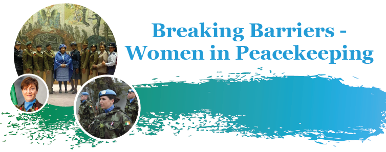 Today over 250 participants, including civil society, take part in an interactive discussion on the barriers to the greater participation of women in peacekeeping  With over 6⃣0⃣ years of peacekeeping experience, 🇮🇪 knows the urgency for increased female participation🕊️ #A4P
