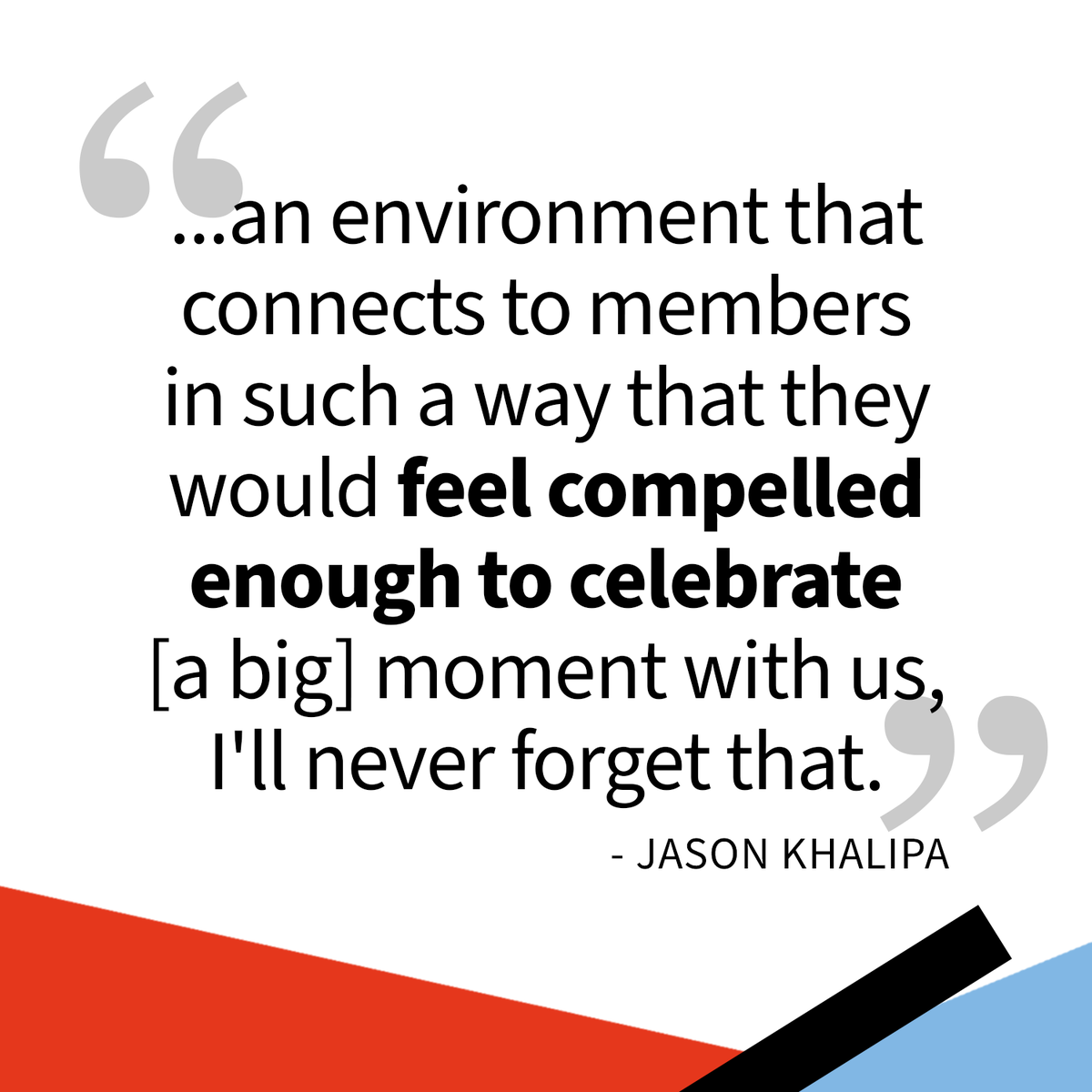 Our #MondayMotivation is brought to you from the biz side of @JasonKhalipa. Here he is talking about 2 members of his gym who shared their proposal with other members. We should all strive to create a community where the members become family! #WodifyCommunity #FitnessCommunity
