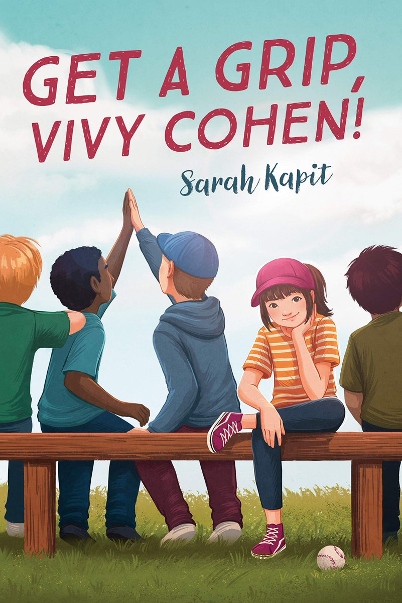 Congratulations to @SarahKapit -- GET A GRIP, VIVY COHEN is a Schneider Honor Book! Hooray! #ALAyma