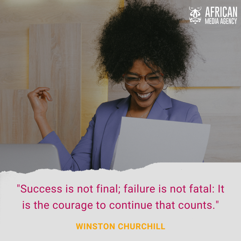 This quote reminds us that whether it's success or failure, the ability to continue afterwards can be a challenge, especially after failure. But simply continuing at whatever pace and overcoming any obstacle, is what truly counts. #MondayMotivation