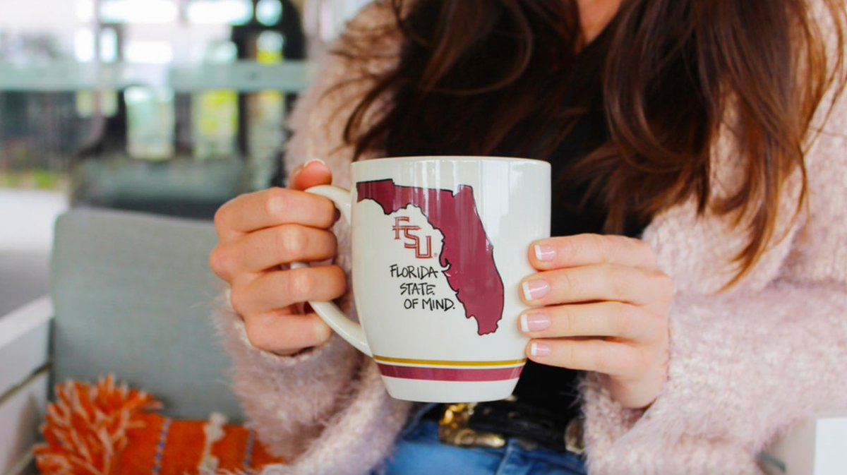 Coffee + FSU = Florida State of Mind ☕ #mondaymorning #GarnetGoldStore
