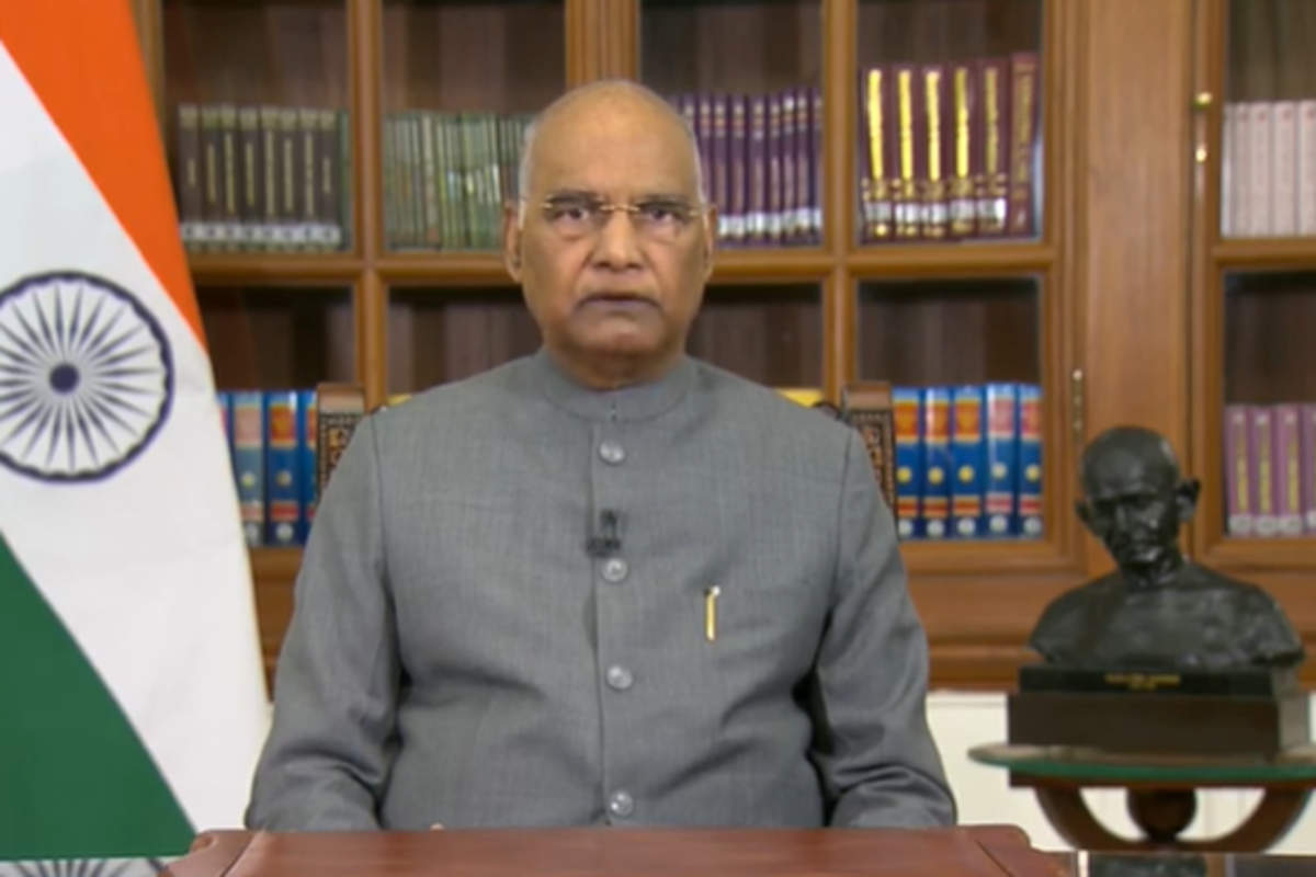 Farmers, vaccines, national security & democracy: President Ram Nath Kovind's address on eve of #RepublicDay  Read: