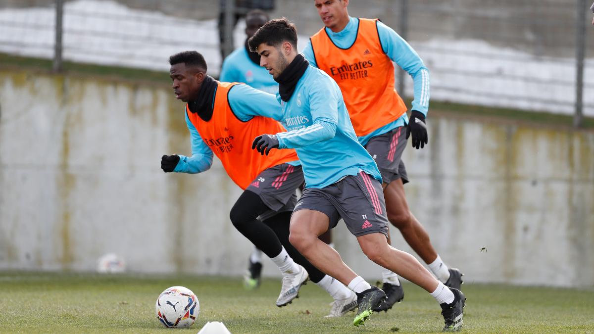 ⚽🏃 ¡Los jugadores volverán a los entrenamientos mañana a las 11:00 CET! #RMCity | #HalaMadrid