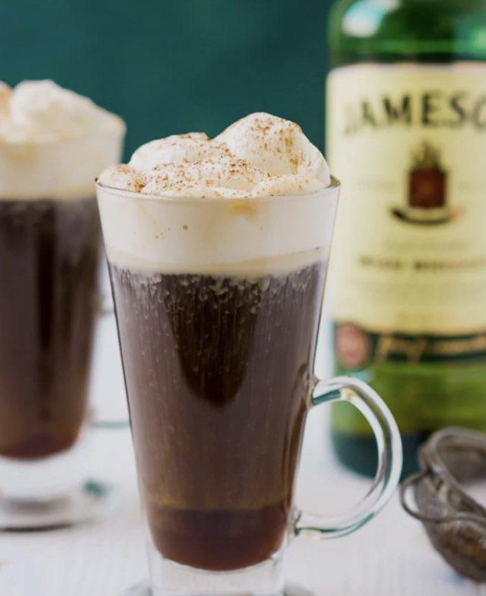 National Irish coffee day kicks off today. You're welcome. ☕️ Shout out to @theBuenaVista where I always stop for the BEST Irish coffee when I'm in town! 🍀  #coffeeguru #coffeelovers #NationalIrishCoffeeDay #coffeetime #MondayMorning #Ireland #travel #BucketList #SanFrancisco