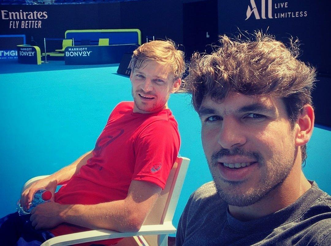 Cette semaine @GermainGigou est mon invité : il évoque cette première semaine d'entraînement avec @David__Goffin à Melbourne, leur travail foncier cet hiver, leur amitié, leurs objectifs.Un long entretien à écouter ici 👉🎧  #tennis #podcast #AustralianOpen