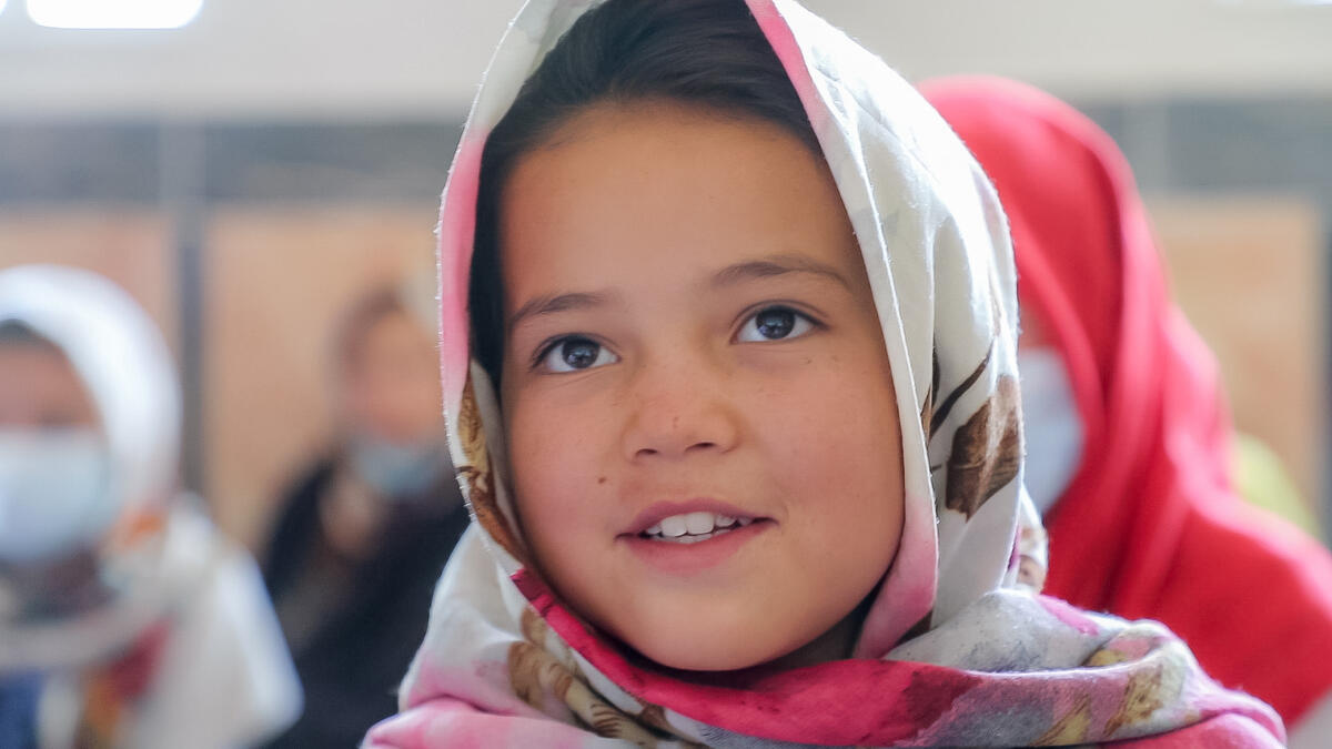 """When I first came here, I was very stressed, embarrassed and could not speak in front of others. But now, I have found that courage.""  Find out how we're helping 9-year-old Zahira have a brighter future in #Afghanistan:   #MondayMotivation 