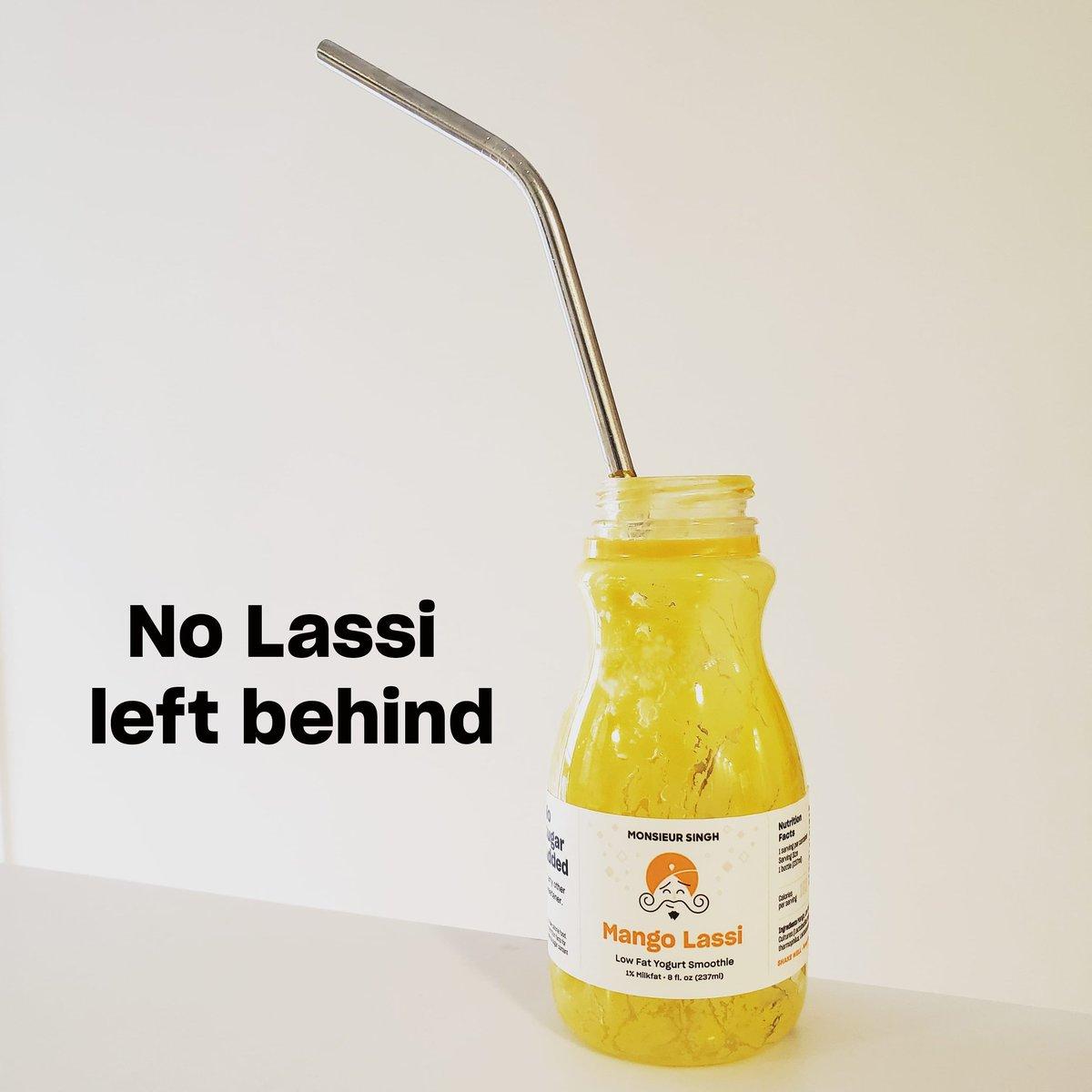 All powered up for #Monday with a very very tasty Mango Lassi with no added sugar  #MondayMorning #MondayMood #MondayVibes #MondayRush #MondayBoost #lassi #mangolassi #singh #nosugar #nosugaradded #healthylifestyle #tastyandhealthy #monsieursingh #monsieursinghlassi #Mango