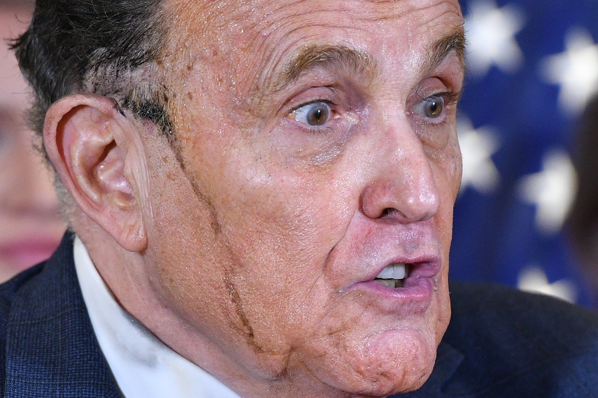 Dominion Voting Systems is suing Trump lawyer Rudy Giuliani, seeking $1.3 billion for defamation over his claims of voter fraud.  The voting machine company says its employees have faced death threats and harassment. Reminder: There was no evidence of fraud in the election.