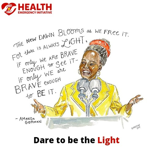 #mondaymotivation  Share with us what do you want to dare this week?  Where do you want to lighten today?  How brave can you be?    #lightingtheworld #impactinglives #makingadifference #healthemergencyinitiative