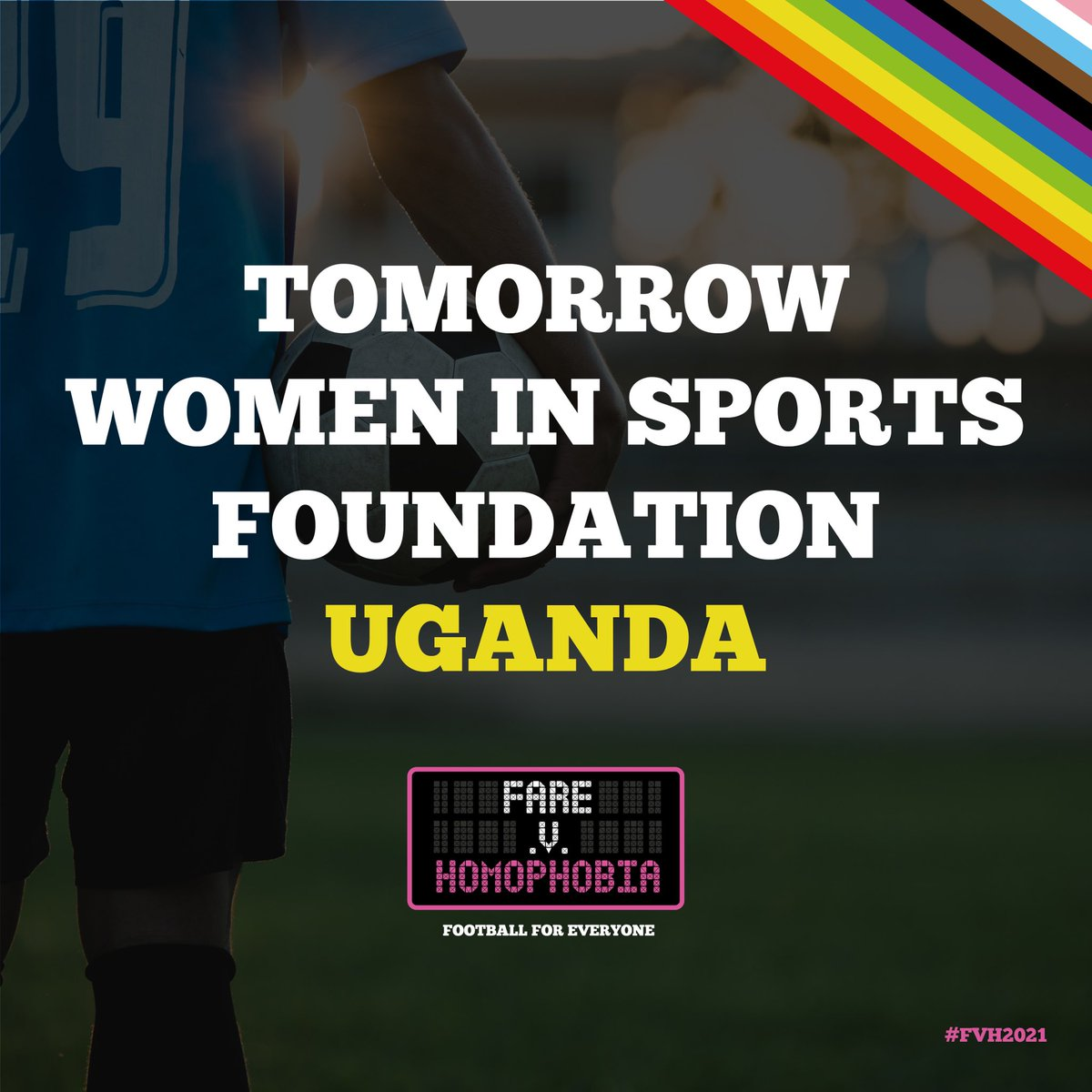 🇺🇬 Tomorrow Women in Sports Foundation @TWISF2 in #Uganda are creating waves thrush their inclusion through football work.   They plan a much-needed campaign to fight against homophobia among sports fans and educate LGBTIQ+ footballers on their rights as players
