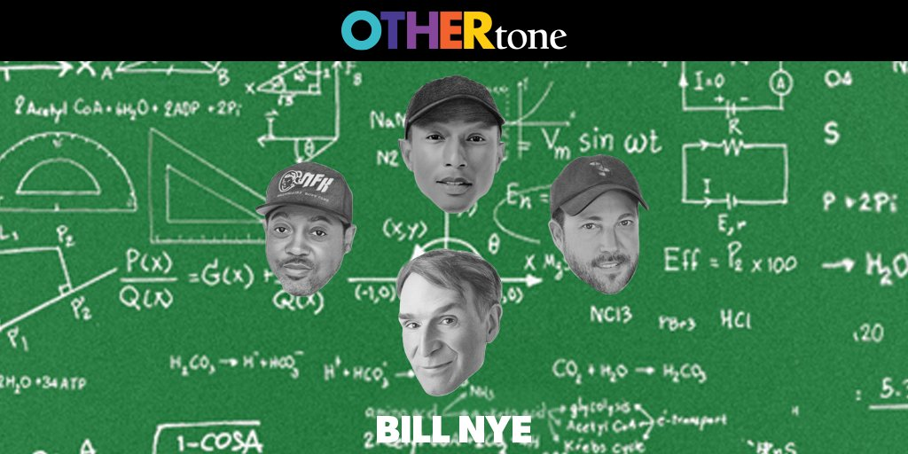 New episode w/ @BillNye is live!    Listen in as we talk about how science can shape how we think about our own lives. 🧬🧪🔬   P.S. You'll never view a stadium the same way after listening.    Listen + Subscribe: