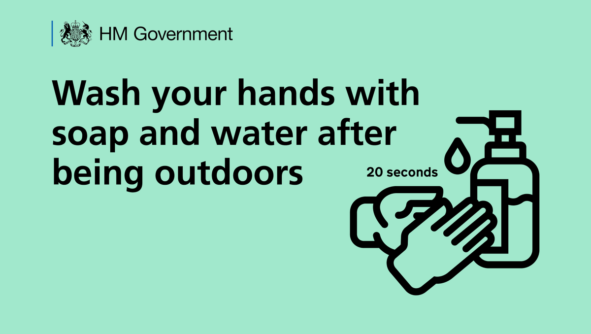 Washing your hands is one of the easiest ways to protect yourself and others from coronavirus (COVID-19).  The @NHSuk has shared the best way to wash your hands here: