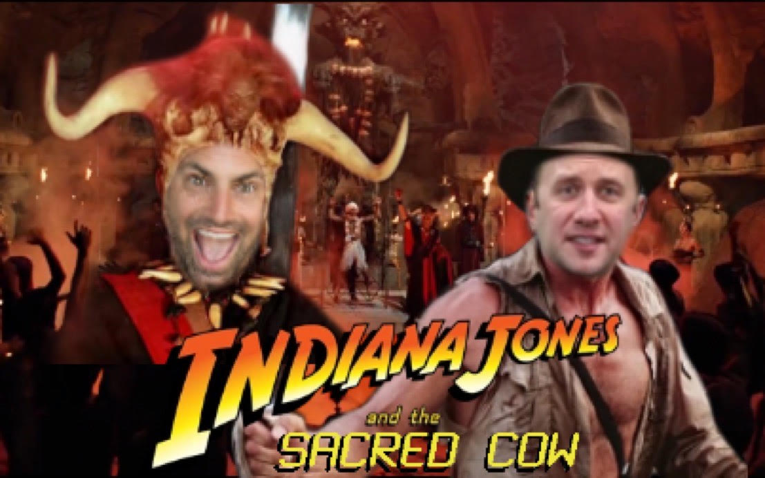 Hello friends!  @raehanbobby (@TEDx ) joins us to cast aspersions against #indianajones & the #templeofdoom  Bobby despises the 2nd #Indy film and tries to rip the heart  out of it.  Kali ma, shuk di day...    #podcast #movies #PodernFamily #MondayMorning