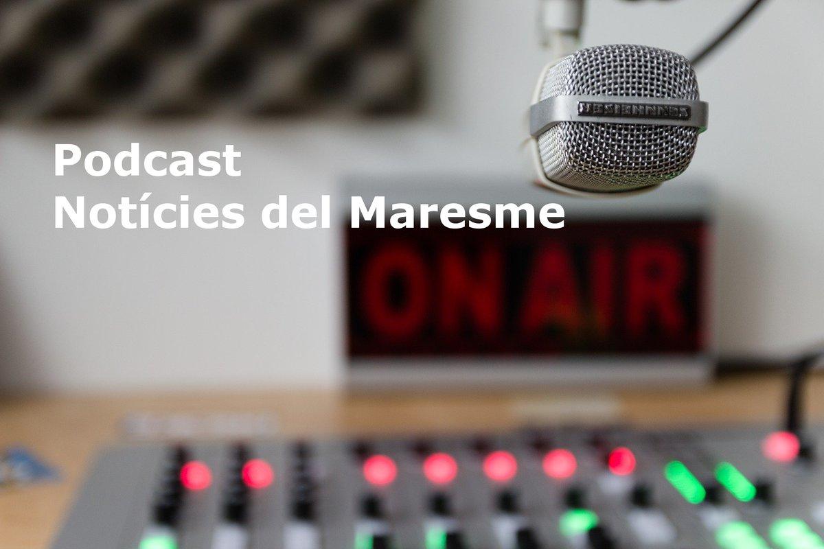 [ÀUDIO] Podcast notícies del Maresme del dilluns 25/01/2021  #Maresme #Podcast #ComissionatConsellComarcal #EROMaresme