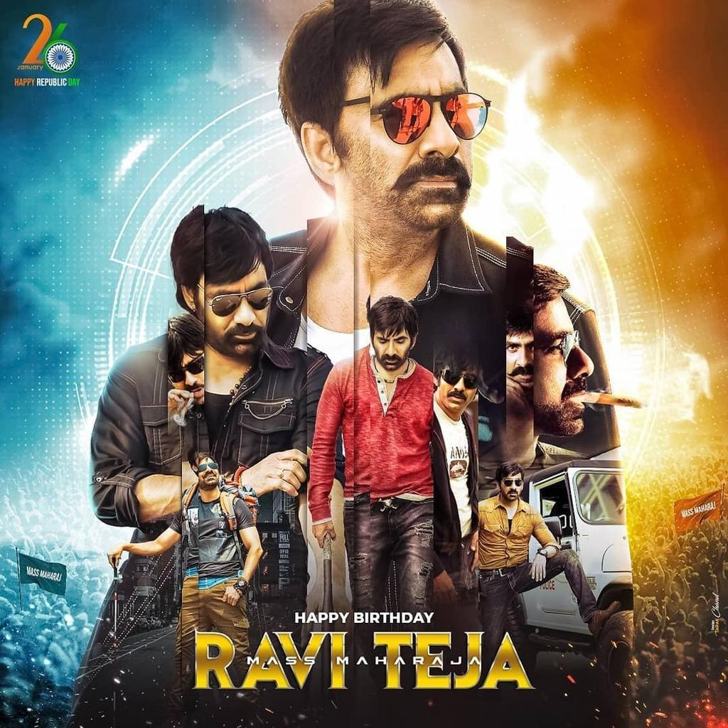 Here's the common dp of Mass Maharaja #Raviteja to celebrate 🎉🎉  #mass #Tollywood #RRR #Krack  #stills #movies #films #telugu #Tollywood #tollywoodactor #actor #actorlife #beautiful #handsome #telugu #tamil #kollywood #mollywood #kannada #moviezupp #… https://t.co/JhOlyWt1xt https://t.co/128tGBGG4R