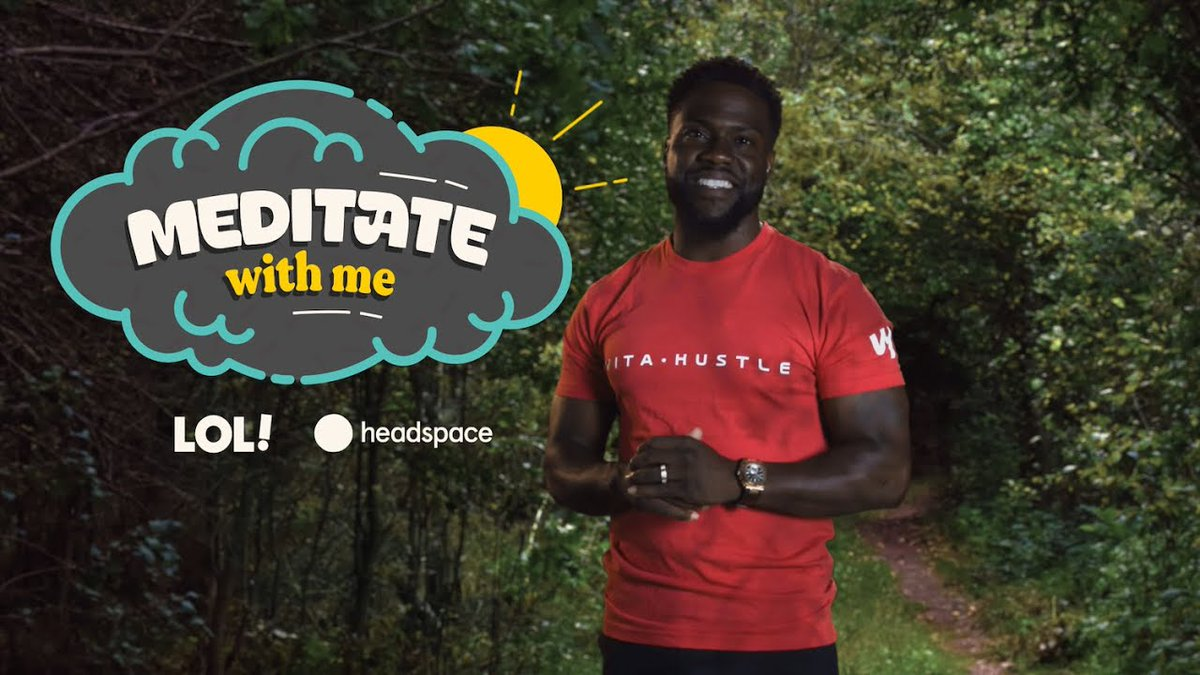 Meditate With Kevin Hart| Meditate With Me | Laugh Out Loud Network ...... -  #hoodgrind #hiphop #breakingnews #battlerap #hiphopnews #celebrities #gossip #celebritygossip #hoodclips #music #rnb #pop #podcast #rap #videos #funnyvideos