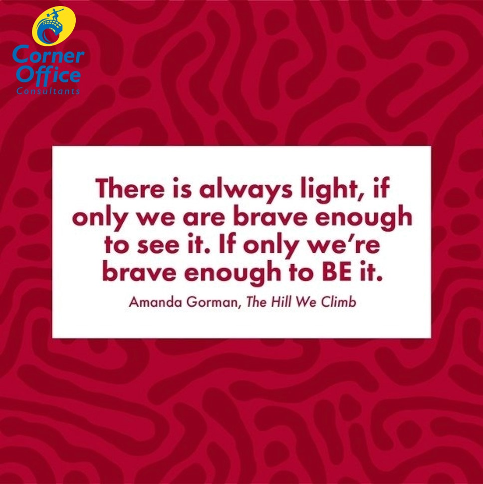 Perhaps it has been seen several times since last week - still a good reminder for this #MondayMotivation.   BE the light.