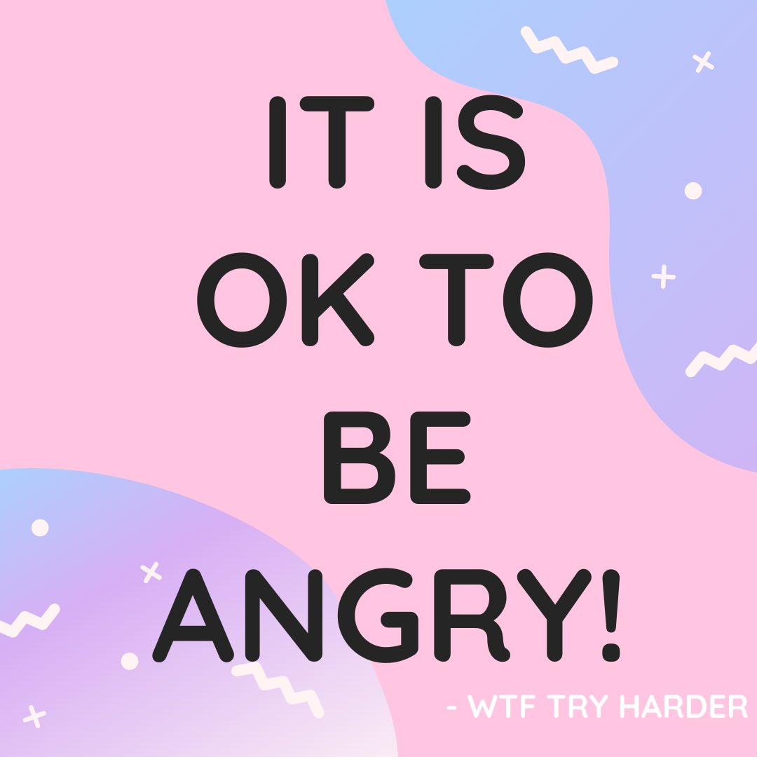 Happy fucking Monday! It's okay to feel angry, especially trying to do all the things during a pandemic! #MondayMorning #MondayVibes #mondaythoughts #MondayMood #inspiration #InspirationalQuotes