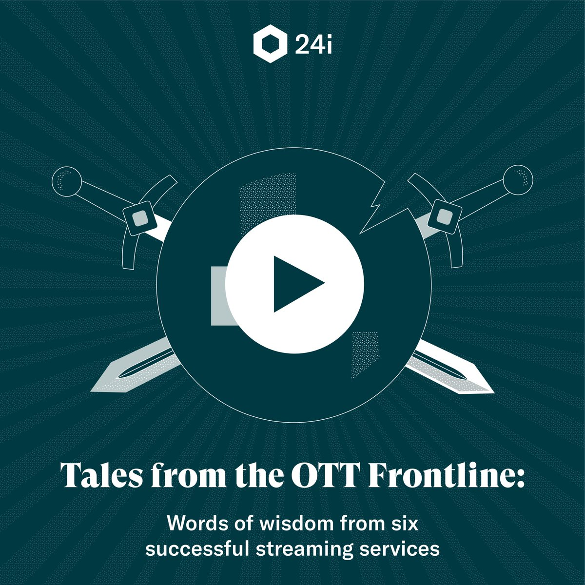 How do specialist OTT services survive the streaming wars? Hear from six of 24i's customers on their successes and struggles in their whitepaper Tales from the OTT Frontline:    #OTT #Netflix #Disney #video #Streaming #svod #tvod @topicstories