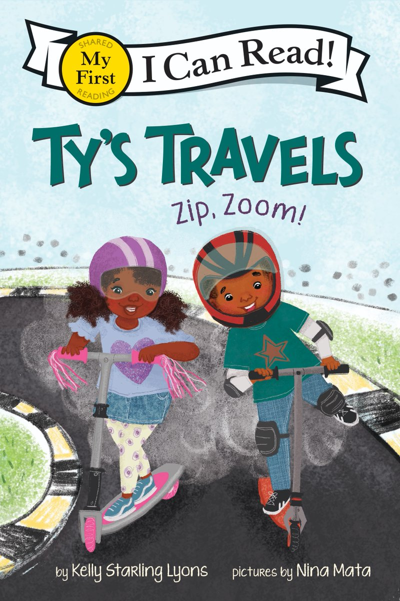 Congrats to @kelstarly, @msbeautifique, and TY'S TRAVELS: ZIP, ZOOM! for winning a Geisel Honor! 🥳 #ALAyma