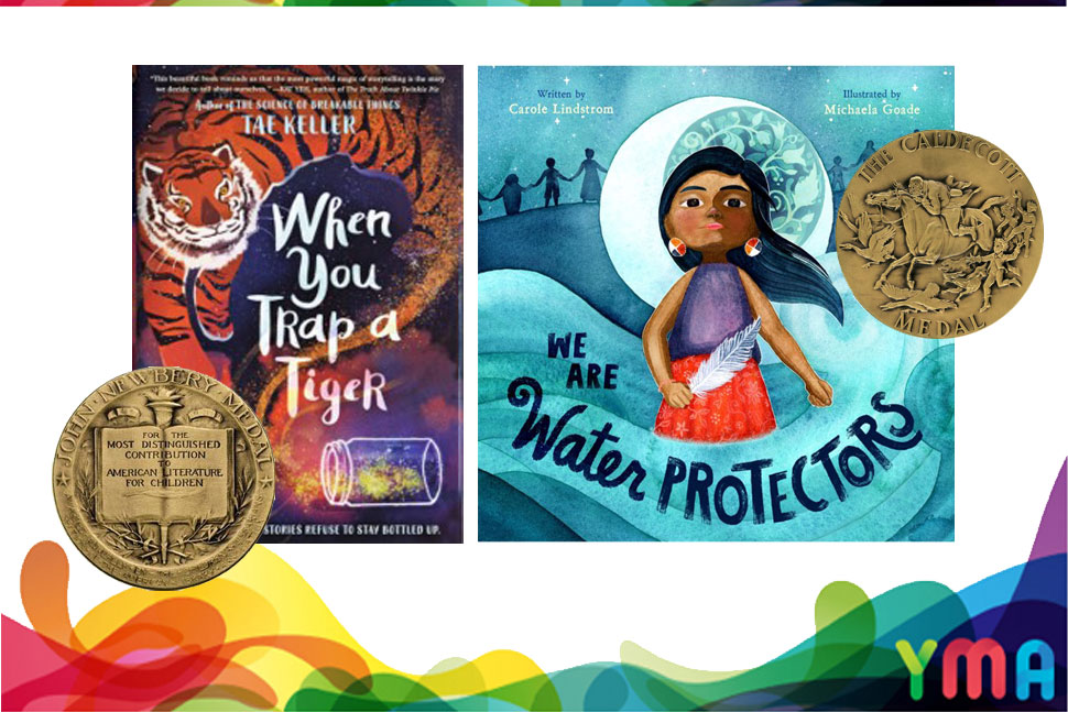 The magic ✨ of children's books are for the young and the young-at-heart. This year's Caldecott, Newbery, Printz, Coretta Scott King winners and honorees--among other awards-- are must-reads. Check them out on our catalog!