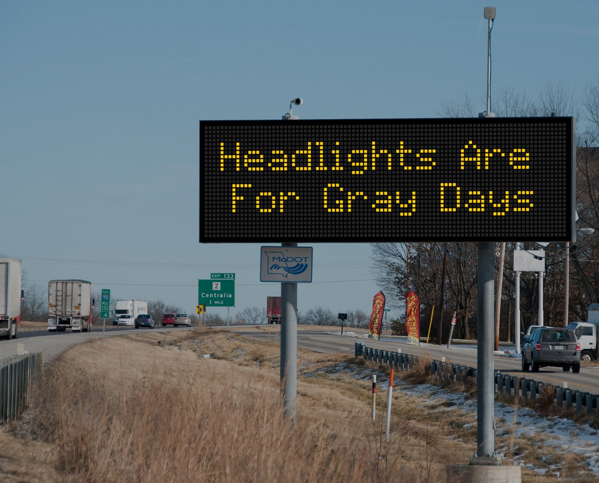 Image posted in Tweet made by MoDOT on January 25, 2021, 3:00 pm UTC