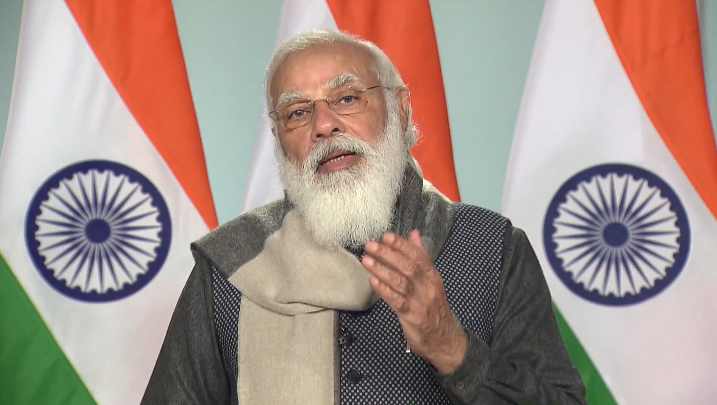 We've promised ourselves that we'll not just achieve our Paris Agreement targets but exceed them.   We'll not just arrest environmental degradation, but reverse it. We'll not just build new capacities, but make them an agent for global good.  - PM @narendramodi