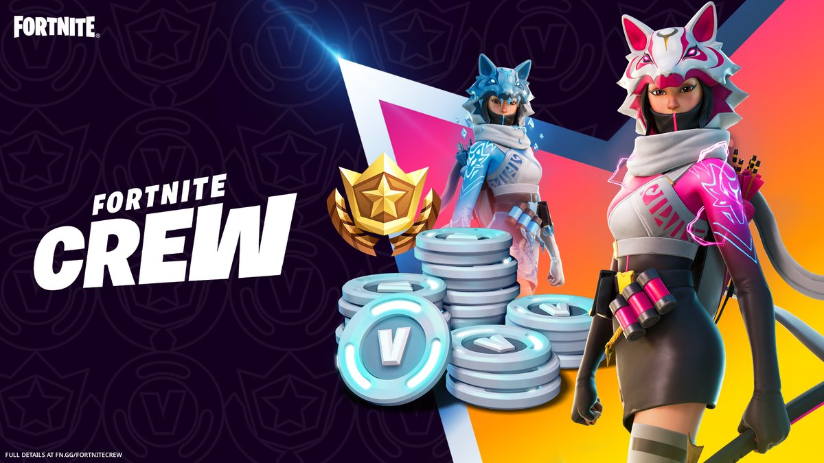 A cunning new warrior on a race against time approaches the Island.  Vi arrives exclusively for Fortnite Crew members on February 1.    Learn more: https://t.co/rYjF0L5TF4 https://t.co/PTZxbsS6n0
