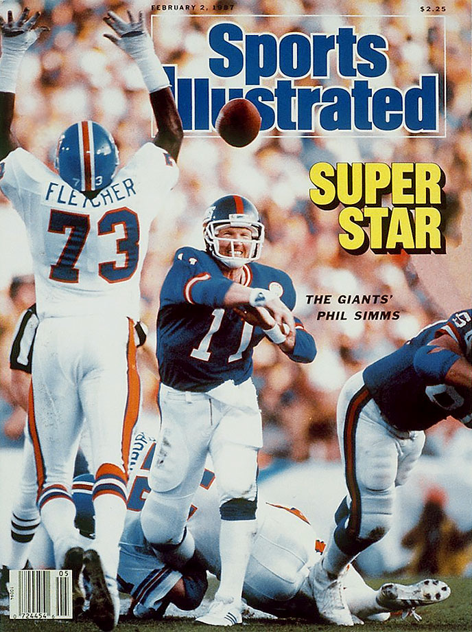 Jan 25, 1987: the New York Giants defeated Denver 39-20 to win Super Bowl XXI. #80s Phil Simms was named the games MVP.