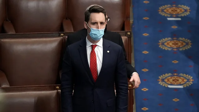 Hawley files ethics counter-complaint against seven Democratic senators https://t.co/3WOXyWtdjb https://t.co/X3cEUd5YvX