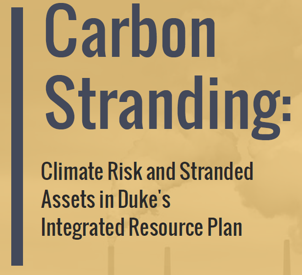 . @DukeEnergy is the biggest electric utility in the country. They will have to play a big role in the clean energy transition.Our report ( https://energytransitions.org/carbon-stranding) looks at Duke's planned 7.3 GW of new gas plants, costing an extra $4.8B + causing big climate risks. Let's dig in.