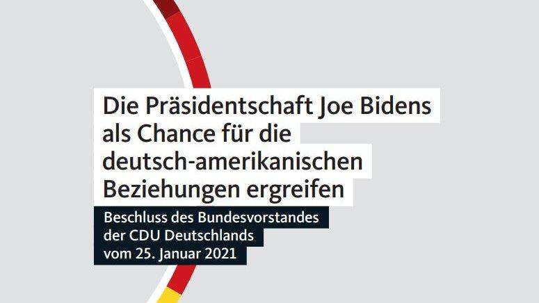Die 🇩🇪-🇺🇸 Freundschaft ist einer der Grundpfeiler der @CDU. Daher freut es mich besonders, dass wir in der konstituierenden Sitzung des neuen CDU-Vorstands den Beschluss gefasst haben, Bidens Präsidentschaft aktiv als Chance zur Zusammenarbeit zu ergreifen.https://t.co/yNUrxtoiWu https://t.co/IomgM0XdwN